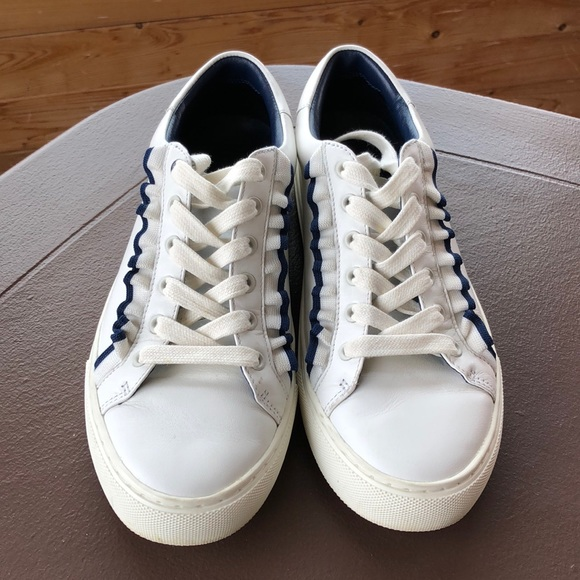 cafb28e08a2 Tory Sport Ruffle Low Top Lace Up Sneakers. M 5afef2ba45b30c4ca7bf6fd7.  Other Shoes you may like